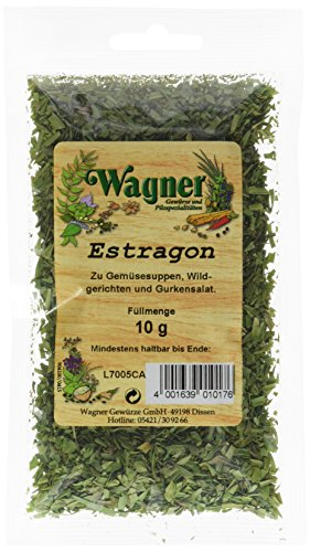 Wagner Gewürze Estragon, 5er Pack (5 x 10 g)