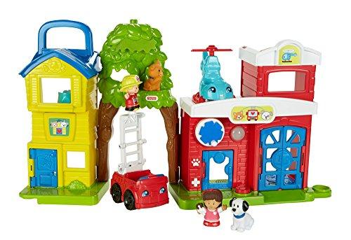 Fisher-Price Mattel FKR62 - Little People Tier-Rettungsstation