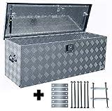 Truckbox D160 + MON2014 Werkzeugkasten, Deichselbox, Transportbox, Alubox, Alukoffer
