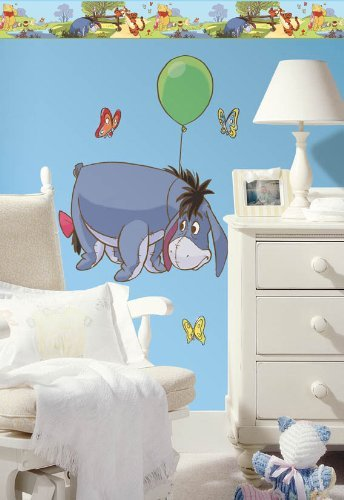 akeover Wall Decal Kit #1 by Wallhogs (Eeyore Kit)
