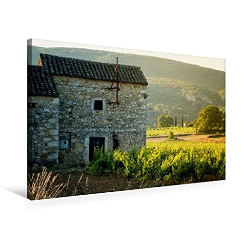 Calvendo Premium Textil-Leinwand 75 cm x 50 cm quer, Altes Bauernhaus | Wandbild, Bild auf Keilrahmen, Fertigbild auf echter Leinwand, Leinwanddruck Orte Orte