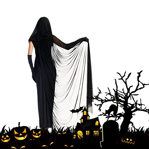 CrazySell Disfraces de Bruja para Halloween Cosplay Costume para Mujer