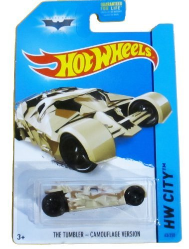 2014 Hot Wheels Hw City - The Tumbler - Camouflage Version by Mattel [Toy] (English Manual)