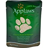 Applaws Katze Beutel Huhn & Spargel, 12er Pack (12 x 70 g)