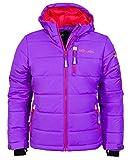 Trollkids Skijacke Hemsedal Snow violett/rot 12 Jahre (152 cm)