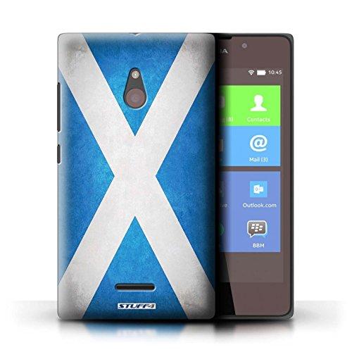 Kobalt® Imprimé Etui / Coque pour Nokia XL / Angleterre/anglais conception / Série Drapeau Écosse/écossais