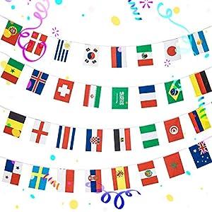 eventos escolares: Bandera Nacional Bandera, 200 Banderas intermacionales para Interior y Exterior,...