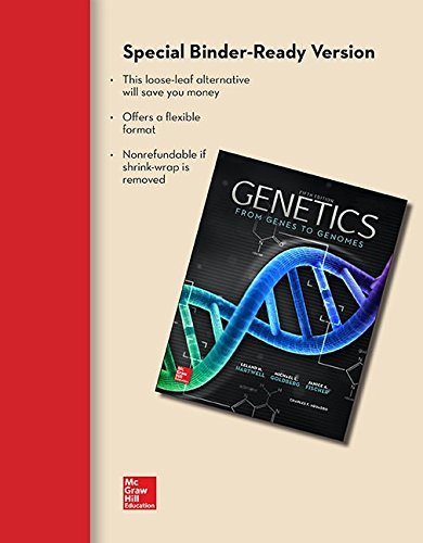 Loose Leaf for Genetics by Leland Hartwell (2014-09-02)