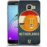 Head Case Designs Pays-Bas Animaux Patriotiques Étui Coque en Gel molle pour Samsung Galaxy A3 (2016)