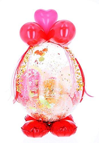 Befüllter Geschenkballon - das ideale Geschenk; Luxus-Version für Geburtstag, Hochzeit, Baby etc. 11