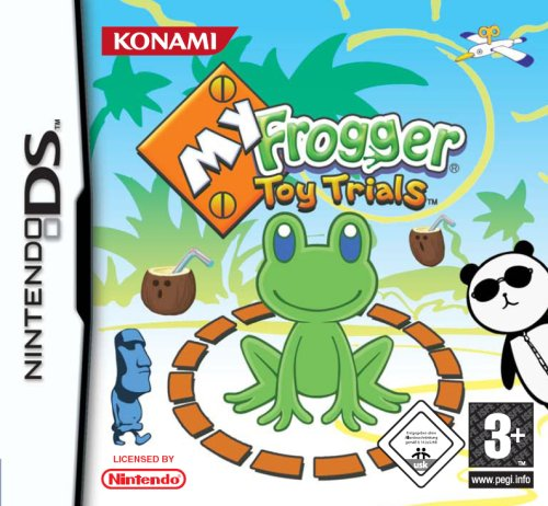My Frogger Toy Trials (Paar Spiel Kostüme Video)