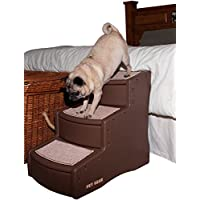 Pet Gear Easy Step III, Medium, Chocolate Brown