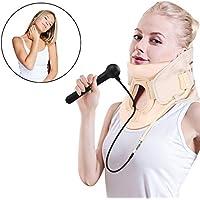 Filfeel Soporte para el cuello, herramienta de alivio Relax Relax y dispositivo para el cuello del cuello del hogar(L)