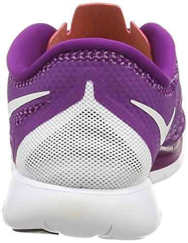 Nike - Nike Free 5.0, Scarpe Da Corsa Da Donna Violet Vif / Blanc / Rouge
