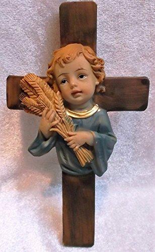 Kommunion Kinder Kreuz Junge 15 x 8 cm Religion Figur Deko GDP H039 A