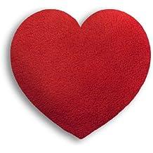 Leschi   Almohadilla de calor (para bebés)   36851   Corazón   pequeño   Color: Fuego