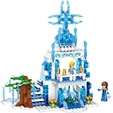 Babytintin Happy Princess Dreamworlds Magic Snow Castle With Block Set Toy For Kids And Girls (Multi Color & Model)