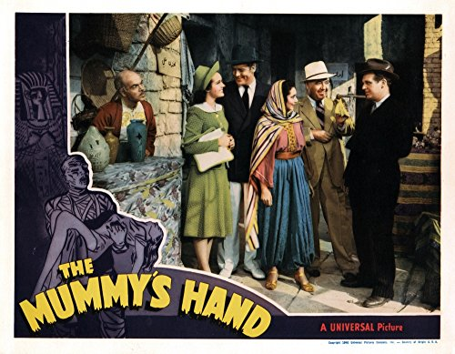 Hand Movie Poster (The Mummy's Hand Movie Poster Masterprint (71,12 x 55,88 cm))