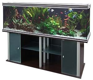 Aquatlantis - Aquarium + Meuble - Evasion 200 X 50 - Bois Veiné