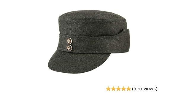 LODENHUT MANUFAKTUR Baschlik Jagdmütze Loden Jagdcap Armycap Wollcap Caps