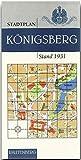 Stadtplan von Königsberg. Stand 1931