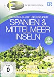 Spanien & Mittelmeerinseln [3 DVDs]