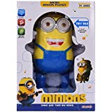 INDITEMS Despicable Toys Playing Dancing with Light and Music auto Robot , Light Toys Games