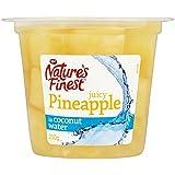 Natures Meilleur Ananas Dans L'Eau De Noix De Coco 108G (Paquet de 6)
