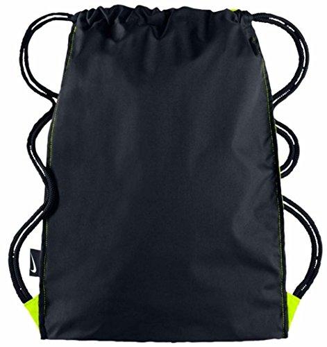 Nike Brasilia 7 Gymsack Sporttaschen, 16 liter VOLT/BLACK/WHITE