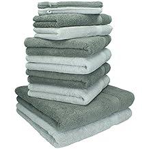 Betz 10 Pezzi. Set di asciugamani 2 asciugamani da doccia b2ae4dc1b534