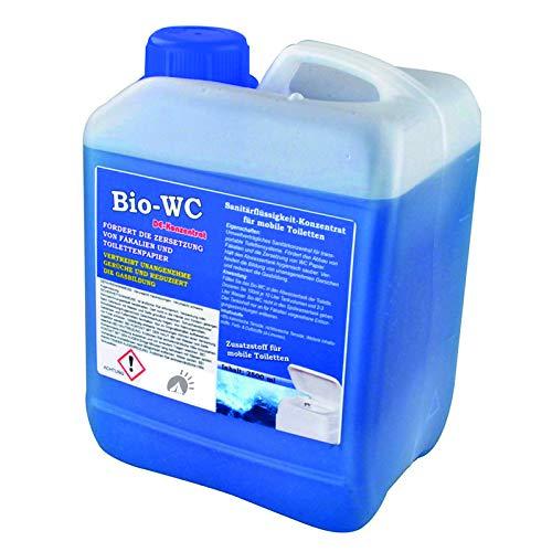 Oxifol Chemie Toilette WC Sanitärzusatz Sanitärflüssigkeit für Campingtoilette Abwassertank 2,5L