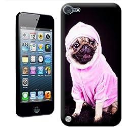 Funda de CARLINO vestido de rosa sudadera con capucha' carcasa para Apple iPod Touch 5th generación
