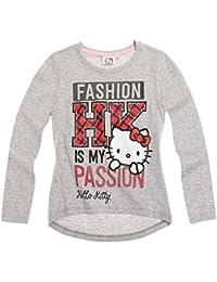 Hello Kitty Kollektion 2016 Langarmshirt 92 98 104 110 116 122 128 Mädchen Neu