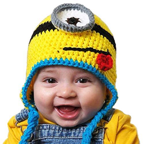 """Thenice Mütze """"Minion"""", Strick, Warm, Winter, für Babys, -"""