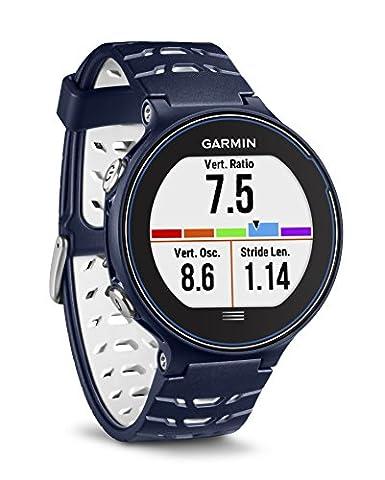 Garmin Forerunner 630 GPS-Laufuhr - bis zu 16 Stunden Akkulaufzeit, Touchscreen, Smart Notifications