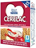 #10: Nestlé CERELAC Infant Cereal Stage-2 (8 Months-24 Months) Wheat Apple Cherry 300g