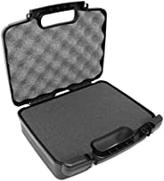 CASEMATIX Portable Projector Carrying Hard Case with Customizable Foam Fits Sony Pico Mobile Projector MPCL1 , MPCD1 , MP-CD
