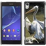 Just Phone Cover Hot estilo teléfono móvil PC carcasa rígida//m00139137dálmata Pelican Pelikan Move//Sony Xperia Z2L50W