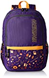 #5: American Tourister Hashtag Purple Casual Backpack (Hashtag 03_8901836130843)