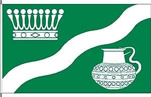 Flagge Fahne Hissflagge Grevenkrug - 60 x 90cm