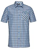 Vaude Herren Albsteig Shirt Hemd, Radiate Blue, XL