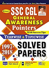 SSC CGL General Awareness Pointers Solved Papers (1997 - 2018) English - 2191