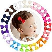 HBF 30 Piezas Clip Para Pelo Bebe Niña 15 Colores Orquillas Para Niñas Accesorio Para La