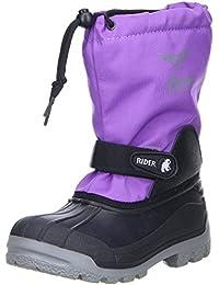 Vista Canada POLAR Kinder Mädchen Winterstiefel Snowboots herausnehmbarer Innenschuh lila/violett