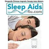 Dispositivi anti-russamento con clip per naso | Stop russare Stop Snoring Aid | Soluzioni anti-russamento | Rilievo di apnea del sonno OSA | Cinese-magnetico-terapia