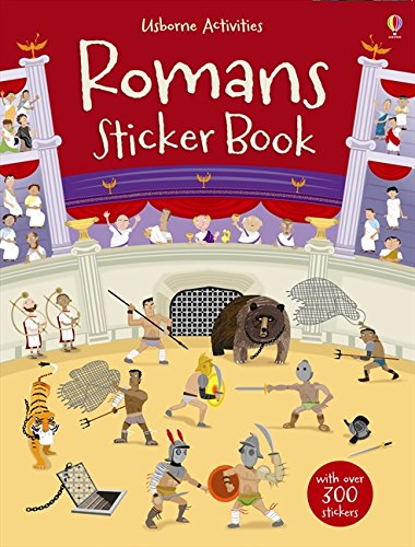 Romans sticker book (Libri stickers) por Fiona Watt