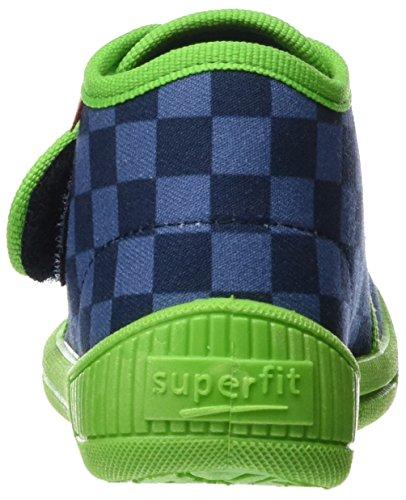 Superfit Bully, chaussons d'intérieur garçon Blau (water Kombi)