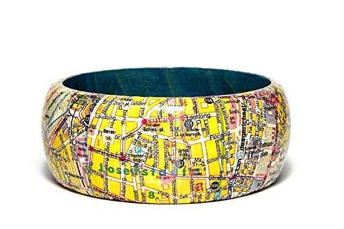 Armreif WIEN 1990 Stadtplan inkl. Geschenkverpackung