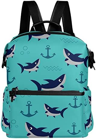 Alaza Shark Ancre décontracté Sac à dos étanche de voyage voyage voyage Petit sac à dos étudiant Sac d'école   Durable  029d74