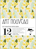 Art Nouveau: Gift Wrapping Paper Book: 1